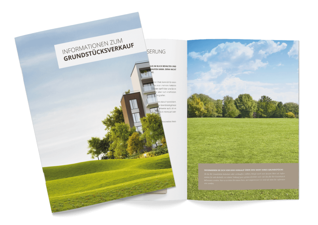 Broschüre Grundstücksverkauf