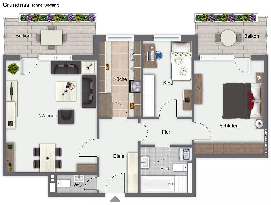 Wohnungsverkauf Blankenloch
